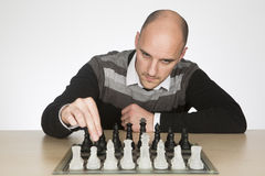 Hoping to win the game Stock Image