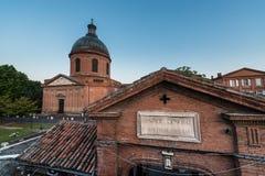 Hopital de La Grave à Toulouse, France Image stock