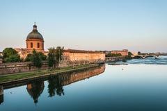 Hopital de La Grave à Toulouse, France Photographie stock libre de droits