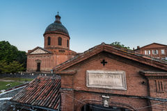 Hopital de La Grave in Toulouse, France. Stock Image