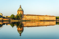 Hopital de La Grave in Toulouse, France. Royalty Free Stock Image