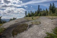 Hopkins Mountain View i Adirondacks royaltyfria foton