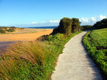 Hopkins River Hiking Path Warrnambool Stock Photography