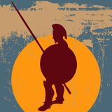 Hoplite Guard Royalty Free Stock Image