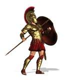 Hoplitekrigare Arkivbild