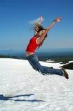 hopp 3 skyward Royaltyfria Foton