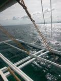 Hoppa för ö Arkivbilder