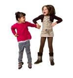 Hoppa för ungar Arkivbild