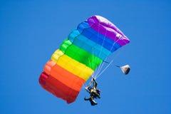 hoppa fallskärm Royaltyfri Bild