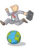 Hoppa over världen Arkivbilder