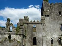 Hoppa slotten i det Offaly länet Irland Royaltyfria Foton