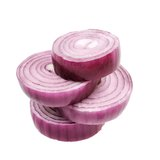 Сhopped red onion Royalty Free Stock Images