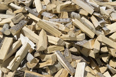 Сhopped wood for the fireplace/stove Stock Photo