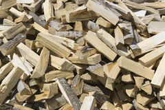 Сhopped wood for the fireplace/stove Royalty Free Stock Photos