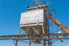Hopper for loading rubble Stock Image