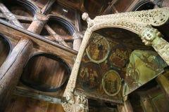 Hopperstad Stave Church fotografie stock libere da diritti