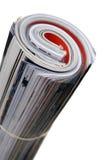 hoprullade tidskrifter Arkivfoto