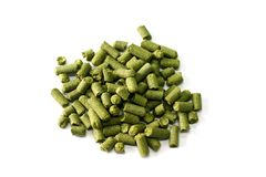 Hops pressed Royalty Free Stock Photography