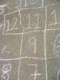 hopscotch игры Стоковая Фотография RF