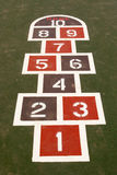 Hopscotch Immagine Stock