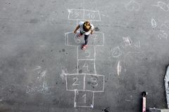 Hopscotch Foto de Stock Royalty Free