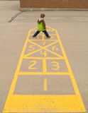 Hopscotch Royalty Free Stock Photos