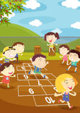 Hopscotch Foto de Stock