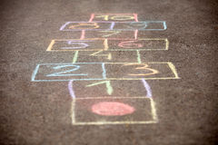 hopscotch Fotografia Royalty Free
