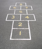Hopscotch Stock Photography