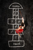 Hopscotch Royalty Free Stock Photography