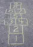 hopscotch Obraz Stock
