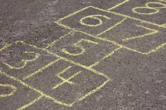 hopscotch Obrazy Royalty Free