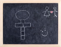 Hopscotch board Royalty Free Stock Photo