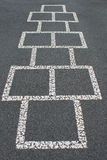 Hopscotch Board Stock Photos