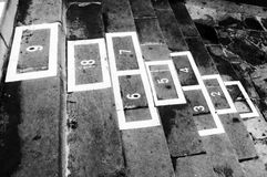 Hopscotch childhood game Stock Photography