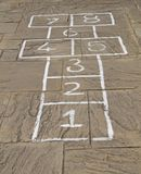 HopScotch Game. Stock Images
