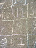 Hopscotch Game Royalty Free Stock Photography