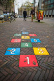 Hopscotch game Stock Image