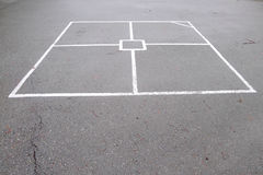 Hopscotch Game Lines Stock Images