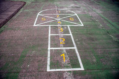 Hopscotch Stock Photos