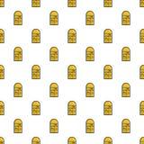 Hopscotch game pattern seamless Royalty Free Stock Photography
