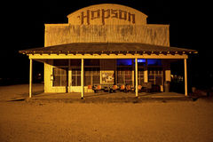 Hopson bar, Mississippi. Outside the Hopson bar, Mississippi Royalty Free Stock Image