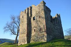Hopton castle Royalty Free Stock Photography