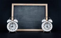 9 a 5 horários laborais incorporados de conceito Imagens de Stock Royalty Free