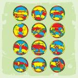 Horóscopo Imagen de archivo libre de regalías