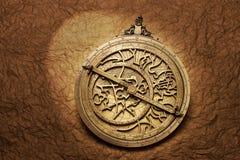 Horóscopo de la astrología del astrolabio Foto de archivo