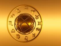 Horóscopo, el zodiaco. Fotografía de archivo libre de regalías
