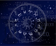 Horóscopo - muestras del zodiaco del cielo