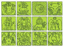 Horóscopo - zodiaco libre illustration