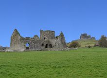 Hor Abbey at Rock of Cashel. Irish Republic, Cashel, Ireland Stock Photos